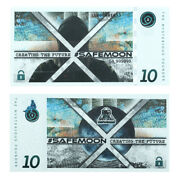 10 Dollar Creating The Futures Paper Money New Year Gifts Future Banknote