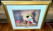 Disney Pinocchio Cel Anytime You Besoin Me Trandegraves Rare Animation Andeacutedition Cellule