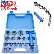 13-in-1 Hollow Punch Set Heavy Duty Gaskets Leather Rubber Hole Case Newest 2021