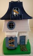 Vintage Hasbro 1976 Weebles Haunted House Mansion Playset
