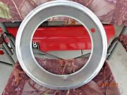 15 Wheel Stainless Steel Trim Ring 2.50 Deep Rally Stepped Edge Clip Style