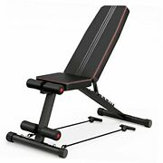 Adjustable Weight Bench Press, Foldable Exercise Benches For Home Gym