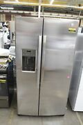 Ge Gss25gshss 36 Stainless Steel Side By Side Refrigerator Nob 112521