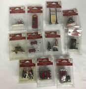Lemax Christmas Village Sets Accessories And Figurines Holiday Lot Of 11 New
