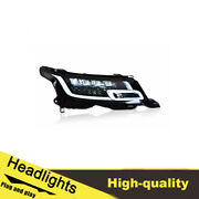 14-17 Led Turn Signal Dynamic Headlights Assembly For Range Rover One Set.