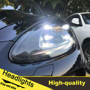11-14 Led Turn Signal Dynamic Headlights Assembly For Porsche Cayenne One Set.