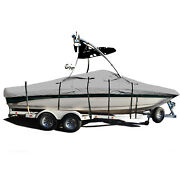 Tige Pre 2002 Wt With Wakeboard Tower Trailerable Storage Fishing Ski Boat Cover
