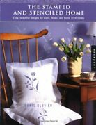 Stamped And Stenciled Home Easy, Beautiful Designs For By Doris Glovier Vg+