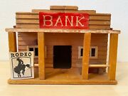 Wild West Western Home For Cowboy And Indian Figures - Bank Haus-26
