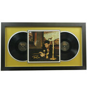 Drake Autographed Take Care Album Signed In Silver - Jsa Authentic