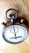 Rare Collectible Vtg C.1950swiss Longines Olympic Stopwatch21js.steel4repair