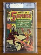 Tales Of Suspense 52 Pgx 3.0 Cream Pages 1st Black Widow