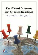 Global Directors And Officers Deskbook By Perry S. Granof And Henry Nicholls Vg+