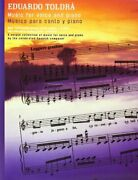 Toldra Music For Voice And Piano By Eduardo Toldra Excellent Condition