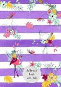 Address Book With Tabs A5 Medium Contact Notebook By Emily Grace Brand New