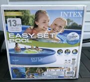 Intex - Easy Set Pool With Filter, 13 Feet X 33 Inches