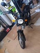 New/assembled Retro Boom 125cc Cafe Cruiser Cafe Racer Gas Motorcycle Scooter