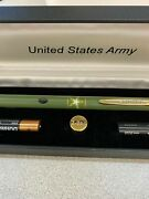 United States Army Z-bolt Green Mission Laser Pointer