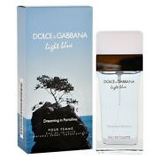 Light Blue Dreaming In Portofino By Dolce And Gabbana For Women 1.6 Oz Edt, New