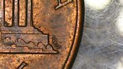 Rare Coin Error 1988 Lincoln Penny Double Die On Fg Reverse