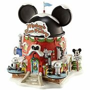Department 56 North Pole Disney Village Mickeyand039s Ear Factory Lit Building