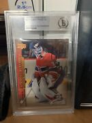 2007-08 Carey Price Young Guns Autographed Beckett Very Gradeable Stanley Cup