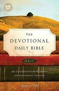 Devotional Daily Bible New King James Version Signature By Thomas Nelson New