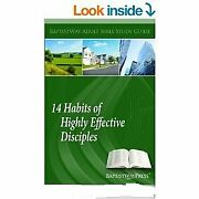 14 Habits Of Highly Effective Disciples Adult Bible Study Brand New