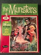 Vintage Whitman The Munsters Grandpa Cooking Jigsaw Puzzle 1965 - Complete