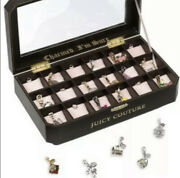 Nwt Rare Htf Juicy Couture 18 Slot Charmed Iandrsquom Sure Charm Display Jewelry Case