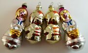 Christmas New Year Glass Toys Vintage Ussr Russian Red Riding Hood And Budenovtsy