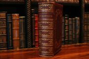 The Dramatic Works Of William Shakespeare Split Fore-edge Paintings 1866 London