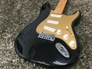 Fender American Deluxe Stratocaster / Bk Used Electric Guitar