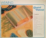 Creative Patterns Weaving By Phillip James Excellent Condition