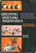 Creating Ceramic Miniatures Stand Up And Cook Book By Rh Value Publishing Vg