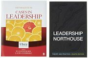 Bundle Northouse Leadership 8e + Rowe Cases In By Gillian Rowe And Peter G.
