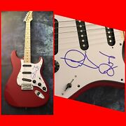 Gfa Graham Russell And Russell Hitchock Air Supply Signed Electric Guitar Coa
