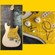 Gfa Graham And Russell Hitchock Air Supply Signed Electric Guitar As3 Coa