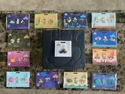 Disney Minnie Mouse The Main Attraction 1-12 Full Pin Set With Pin Book.
