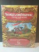 Adandd Complete World Of Greyhawk Box Set Dungeons And Dragons Tsr 1015 Rpg Damaged