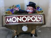 Monopoly Slot Machine Topper Collectible Very Cool Slot Machine Topper