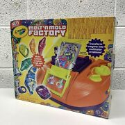 Crayola Melt And039n Mold Factory Brand New In Box Complete