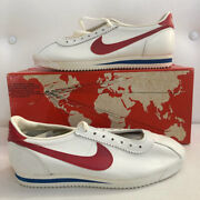 Brand New In Box Vintage 1979 Nike Cortez Made In Saco, Maine - Size 9.5