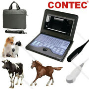 Usa Portable Veterinary Ultrasound Scanner Machine 2 Probes Rectal+ Micro-convex