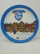 Vintage 12 Heilemanand039s Old Style Beer Metal Round Bar Pub Serving Tray
