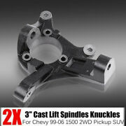 3 Lift Spindles Suspension Level Kit For 1999-2006 Chevy 1500 2wd Pickup Suv
