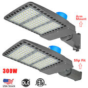 Led Area Roadway Parking Lot Light Outdoor 300w, Commercial Photocell Ip65 Proof