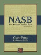 Nasb Giant Print Reference Bible Black Genuine Leather By Lockman Foundation