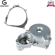 Left Side Engine Stator Magneto Cover Case W/ Gask Fit For Suzuki Drz400 E S Sm