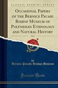 Occasional Papers Of Bernice Pauahi Bishop Museum Of Brand New